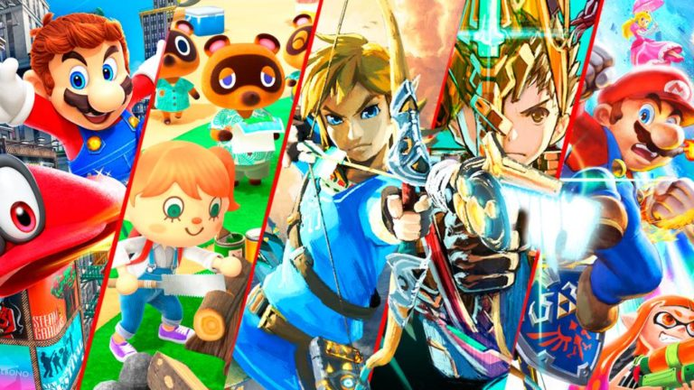 The 15 best Switch exclusive games