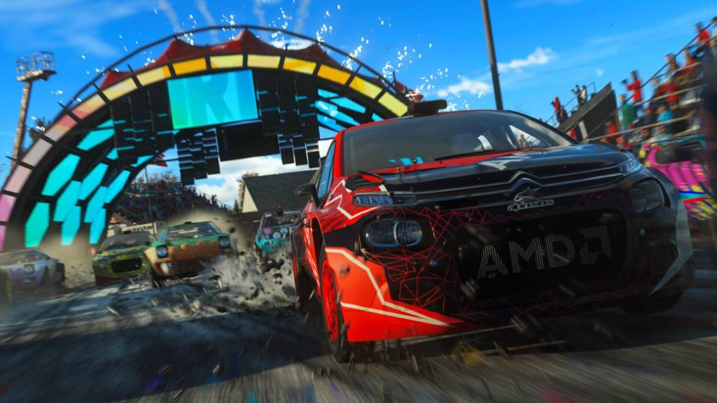DIRT 5, Playgrounds mode impressions