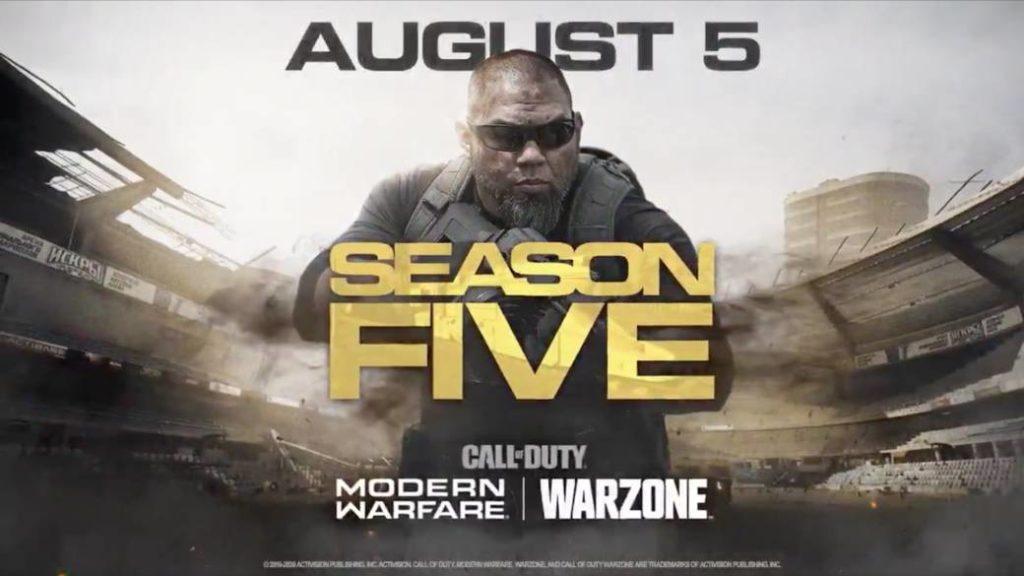 Call of Duty: Modern Warfare and Warzone present Season 5 in a new trailer