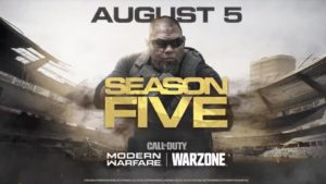 Call of Duty: Modern Warfare and Warzone present Season 5 in a new trailer