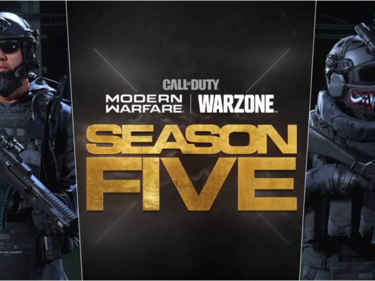 Call Of Duty Warzone Season 5 Date And Time Of The Update Trailer Weapons And More