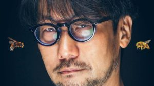 Hideo Kojima, stung by 10 bees before becoming a developer