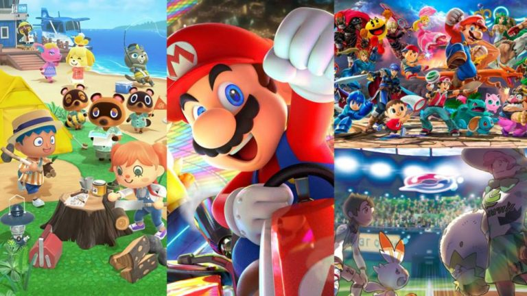 Nintendo Switch: These are the 10 best-selling exclusive games until July 2020