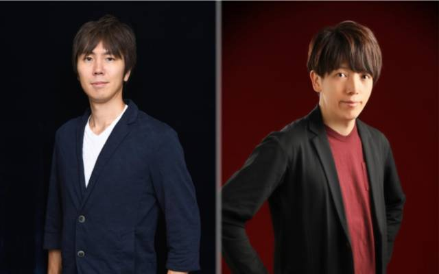 Keita Iizuka, producer, and Kenji Anabuki, director of Scarlet Nexus