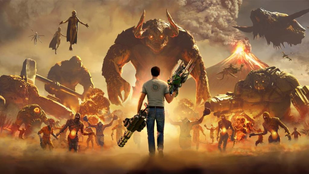 Serious Sam 4 delayed on PC and Stadia: new release date