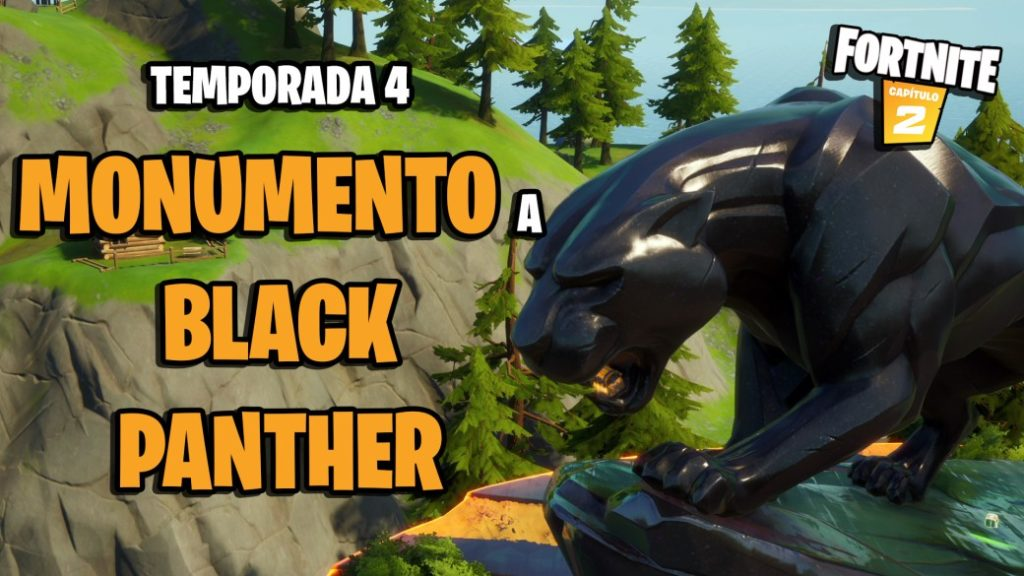 Fortnite: where is the Black Panther monument in season 4