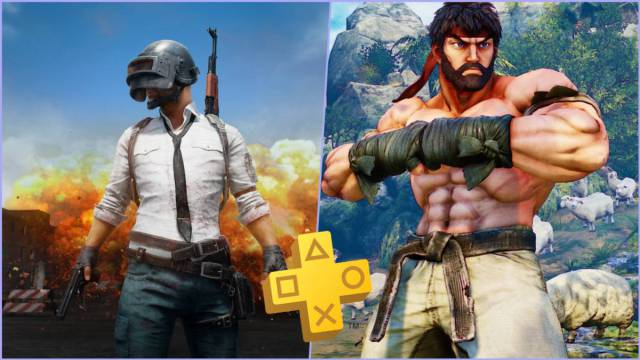 Street Fighter 5 and PUBG for PS4, now available for free with PS Plus