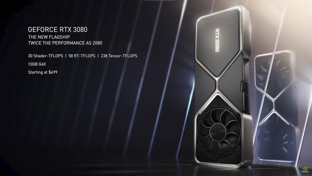 NVIDIA presents its new GeForce RTX 30 graphics cards