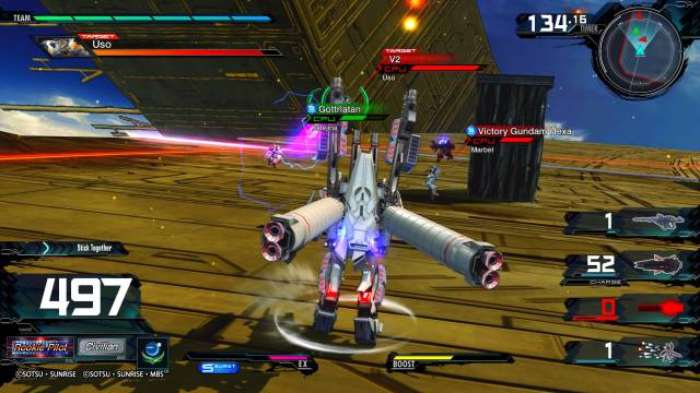 Mobile Suit Gundam Extreme VS. Maxi Boost On, analysis. The most complete game in the franchise
