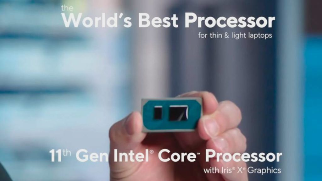 Intel surprises with the eleventh generation of processors with integrated graphics Iris X
