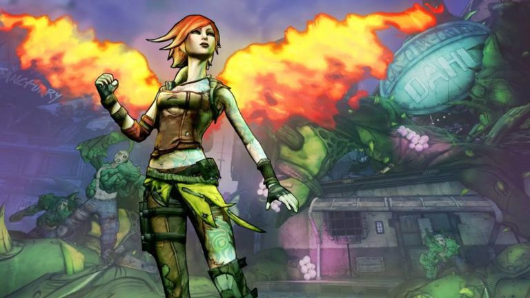 Borderlands 2: Lilith's DLC, free on the Epic Games Store