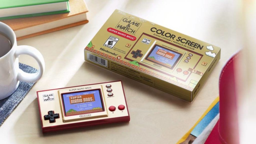 Game & Watch: Super Mario Bros: Size, Battery Life, Price, and More