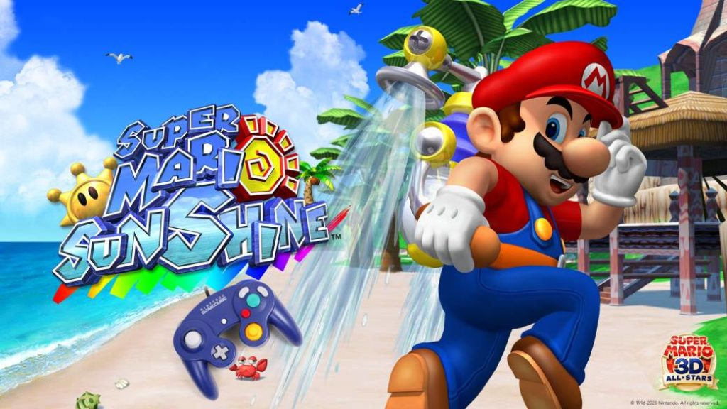 Super Mario Sunshine for Switch is not compatible with the GameCube controller