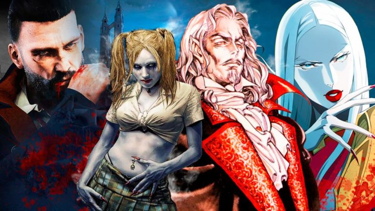 The vampire myth in video games