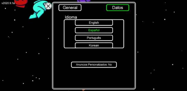 Among Us! how to change Spanish language PC mobile iOS Android