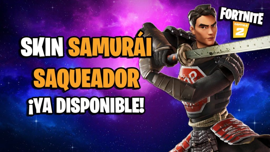 Fortnite: Looter Samurai Skin Now Available; price and contents
