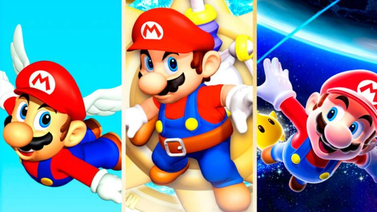 Memories of… Super Mario 64, Sunshine and Galaxy