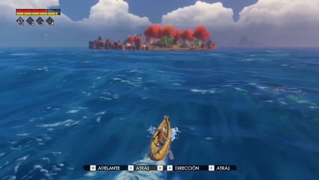 Windbound 5 Lives Studios Koch Media Deep Silver Kara survival RPG adventure Forbidden Islands fantasy PC PS4 Nintendo Switch Xbox One