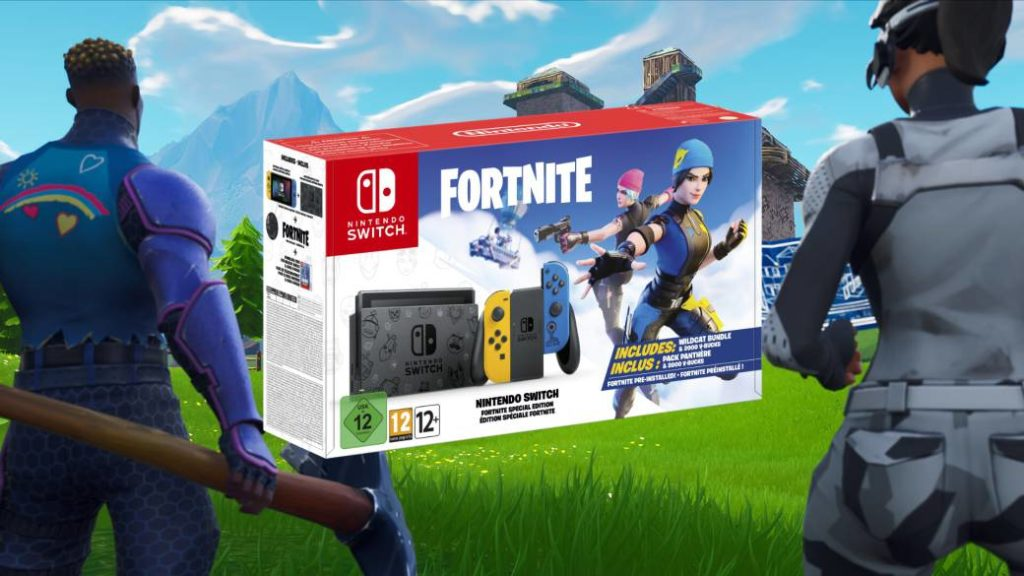 Fortnite will feature a custom edition of Nintendo Switch