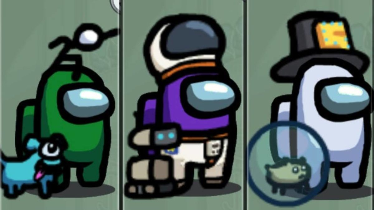 Among Us All Skins Pets And Hats How To Get Them