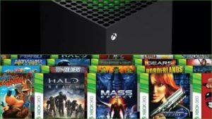 Xbox Series X boasts backward compatibility: four generations in one console