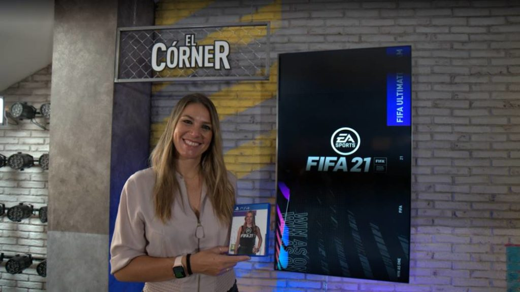 """Nira Juanco: """"Being in FIFA 21 is like Formula 1, something unique that very few people do"""""""
