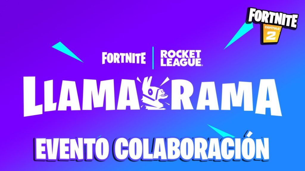 Fortnite and Rocket League present Llama-Rama: Collaboration event