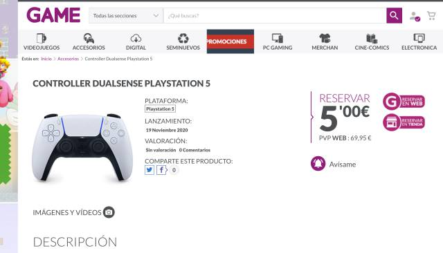 PS5 Reservations