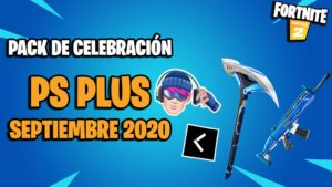 Fortnite: the PlayStation Plus celebration pack September 2020 now available for free