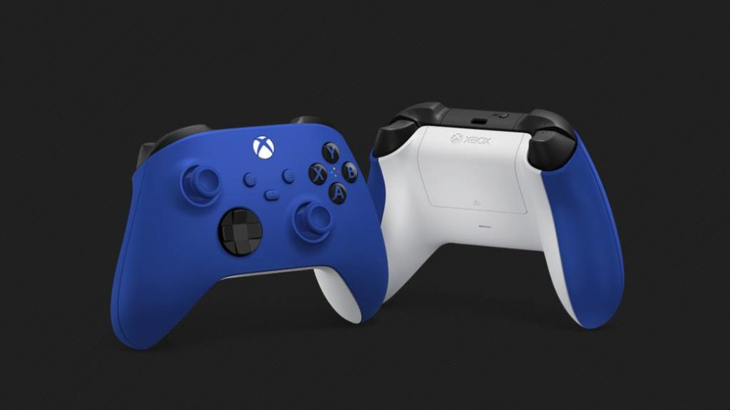 Xbox Announces New 'Shock Blue' Controller for Xbox Series; will be released