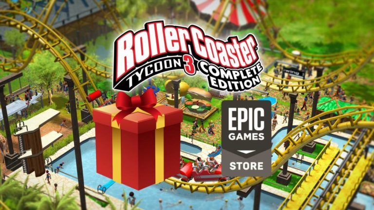 RollerCoaster Tycoon 3: Complete Edition, free game on Epic Games Store