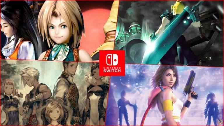 Final Fantasy Switch oferta