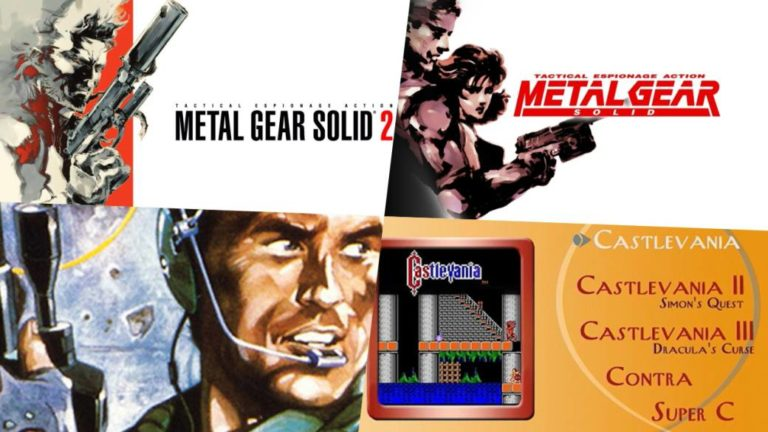 Several games from the Metal Gear, Castlevania and Contra saga come to PC