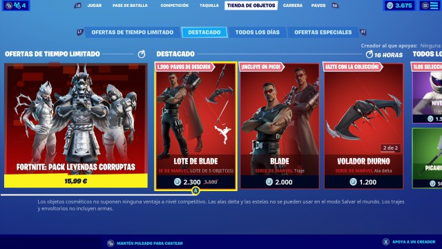 fortnite chapter 2 season 4 skin blade accessories price contents