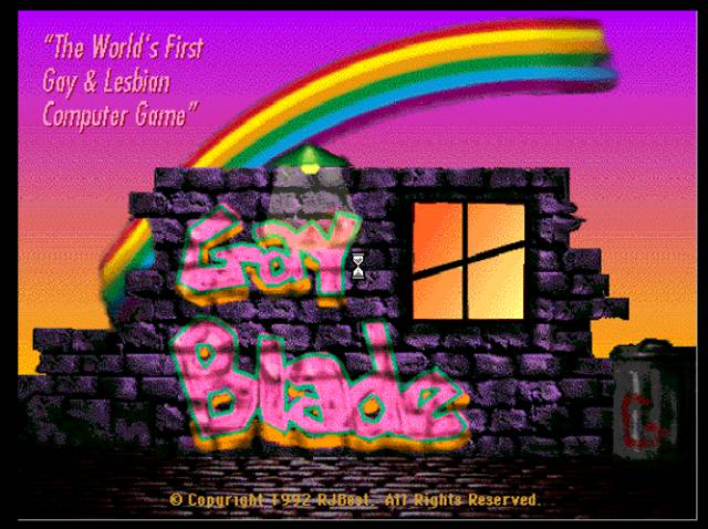 GayBlade Ryan Best John Theurer retro video games RPG LGTB role-playing adventure PC Mac gay lesbian trans queer drag queen Dungeons & Dragons Dragons & Dungeons sword and witchcraft humor satire
