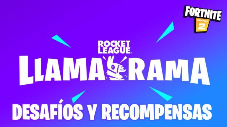 Fortnite x Rocket League - Llama-Rama event: challenges and rewards