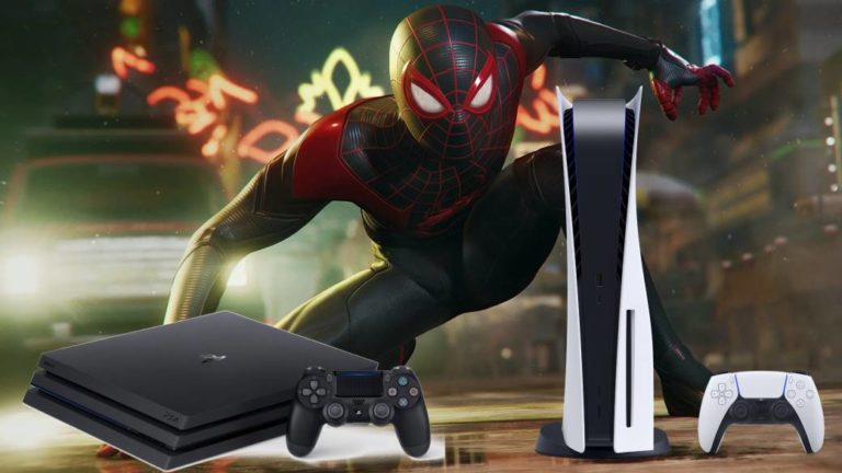 Marvel's Spider-Man: Miles Morales takes up more on PS4 than on PS5