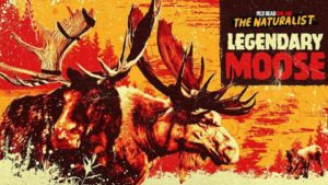 Red Dead Online Sights a Legendary Moose; all the news