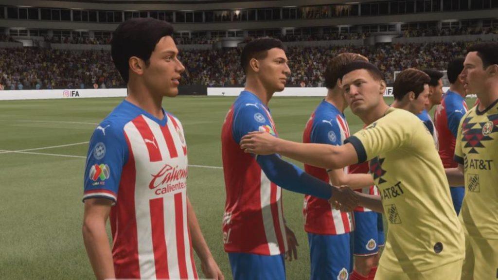 America vs Guadalajara, we simulate the classic in FIFA 21