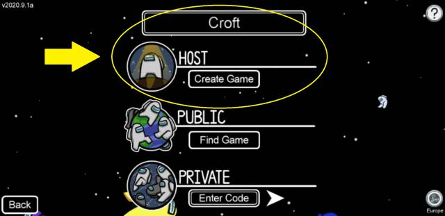 Among Us! how to create private games play with friends PC mobile iOS Android