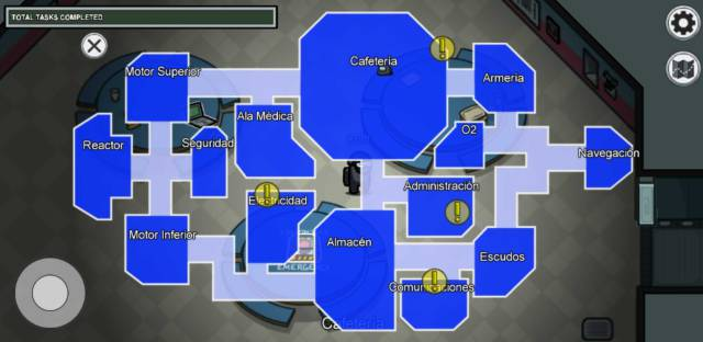Among Us! The Skeld Mira HQ Polus maps PC mobile iOS Android