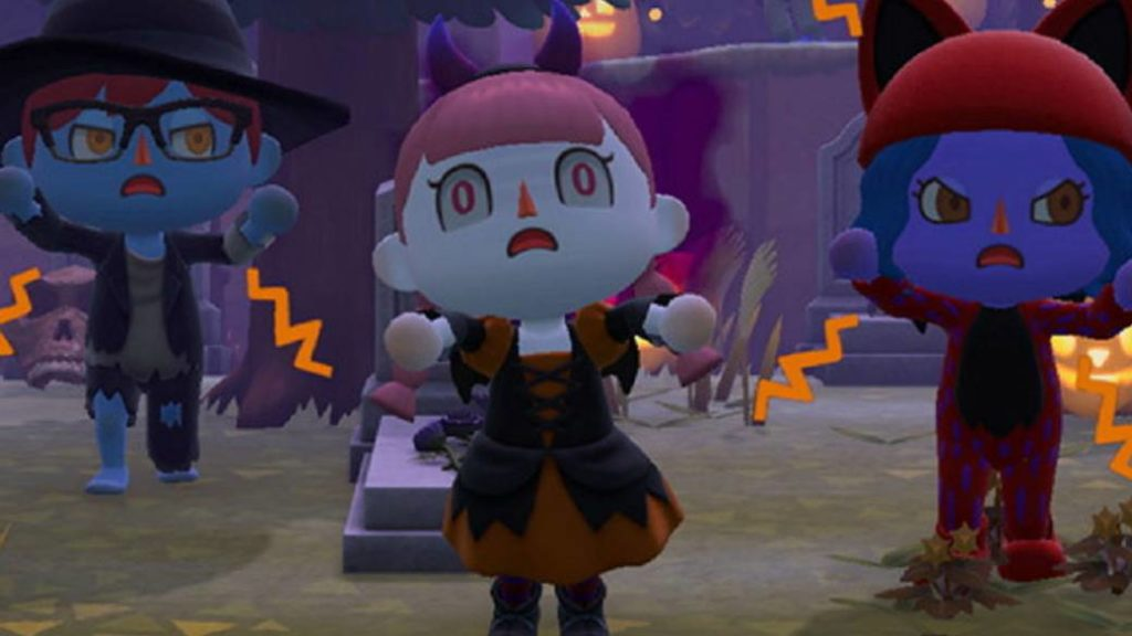 Animal Crossing: New Horizons Celebrates Halloween in Free Fall Update