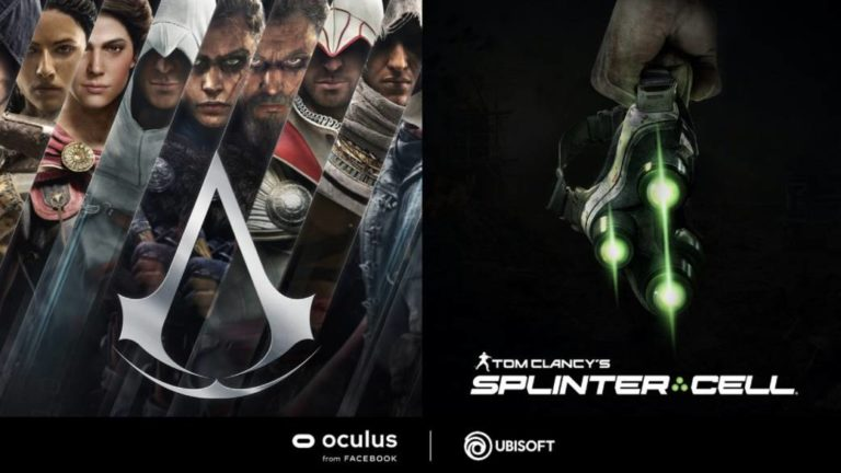 Assassin's Creed and Splinter Cell go virtual reality with new games for Oculus