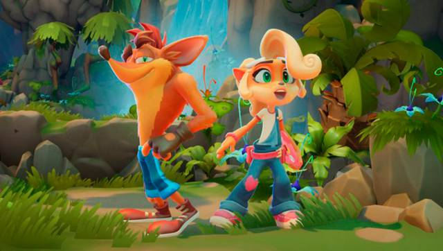 Crash Bandicoot 4: It's About Time is seen once again in its launch trailer