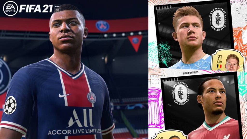 FIFA 21: the 100 best players according to the official game averages
