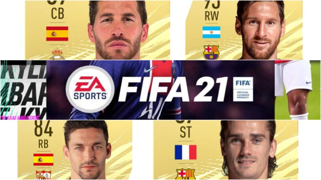 FIFA 21: the best players in LaLiga Santander