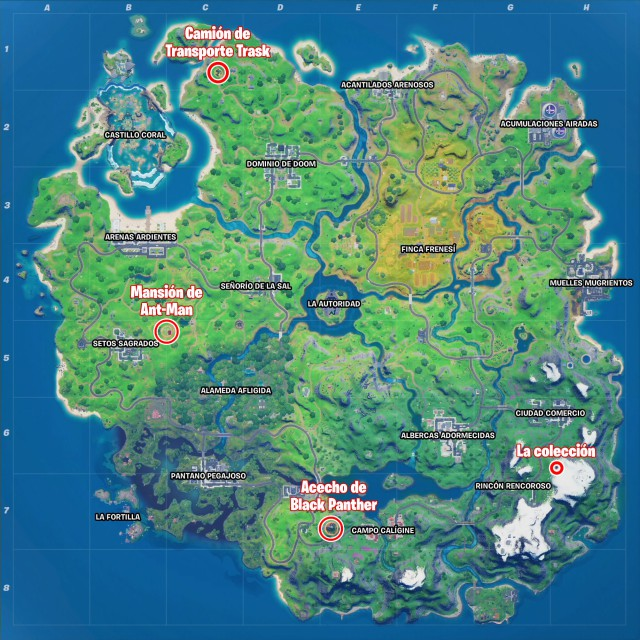 fortnite chapter 2 season 4 new zone the collection where is