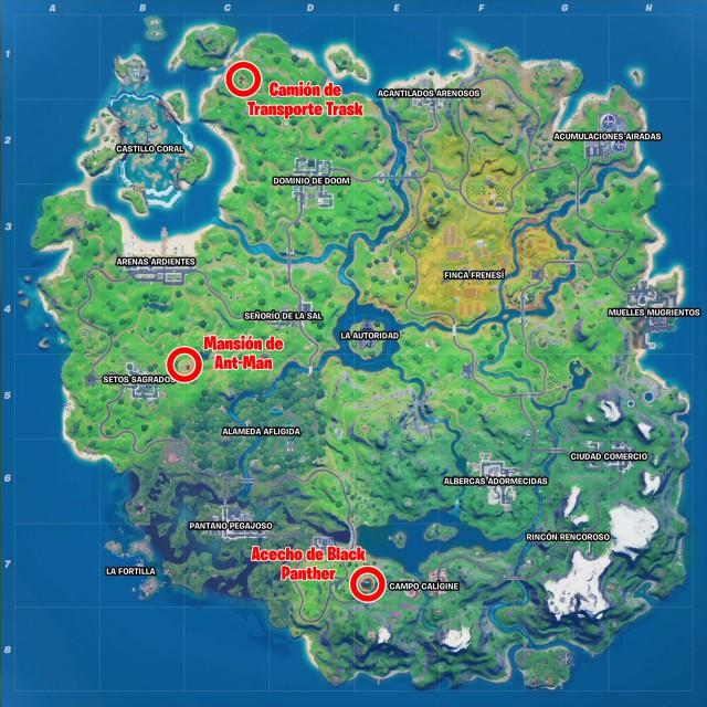 fortnite chapter 2 season 4 changes map stalking black panther monument