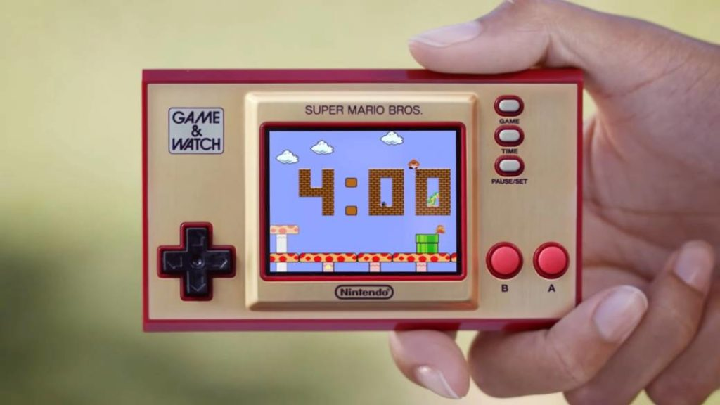 Game & Watch: Super Mario Bros. shown in detail in new video