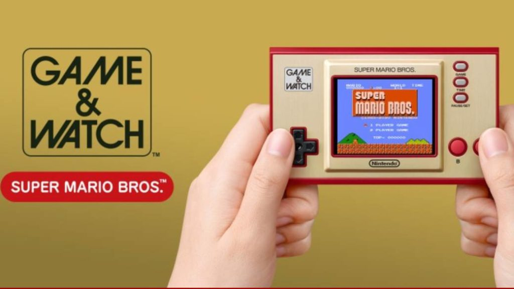 Game & Watch: Super Mario, a new device inspired by the 80s classic